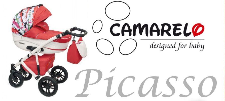 фото коляски Камарело Пикассо 3 в 1