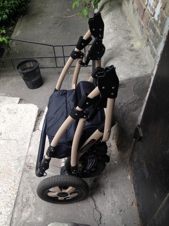 фото коляски Camarelo Carmela 2 в 1