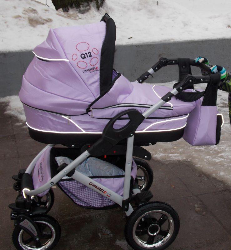 фото коляски Camarelo Q Sport Chrome 2 в 1