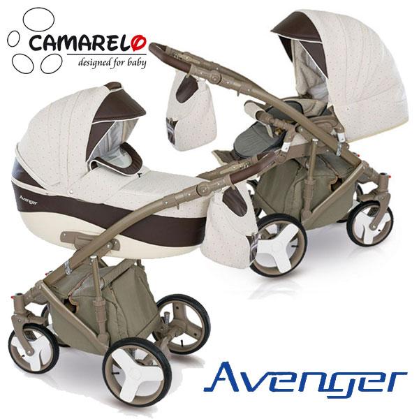 фото коляски Camarelo Avenger 2 в 1