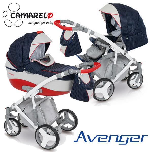 фото коляски Камарело Авенгер 2 в 1