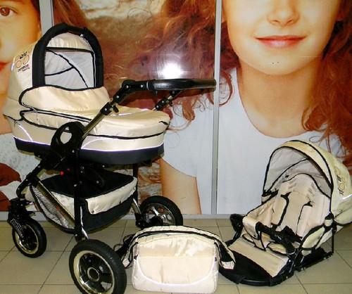 фото коляски Camarelo Q Sport Chrome 3 в 1