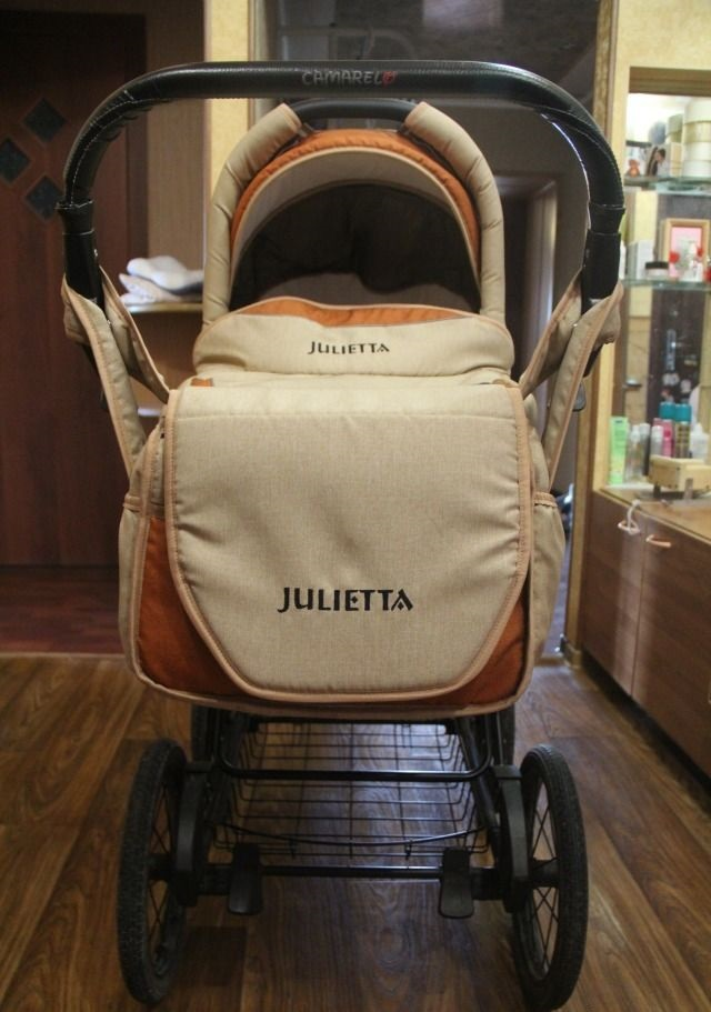 фото коляски Камарело Джульетта 2 в 1