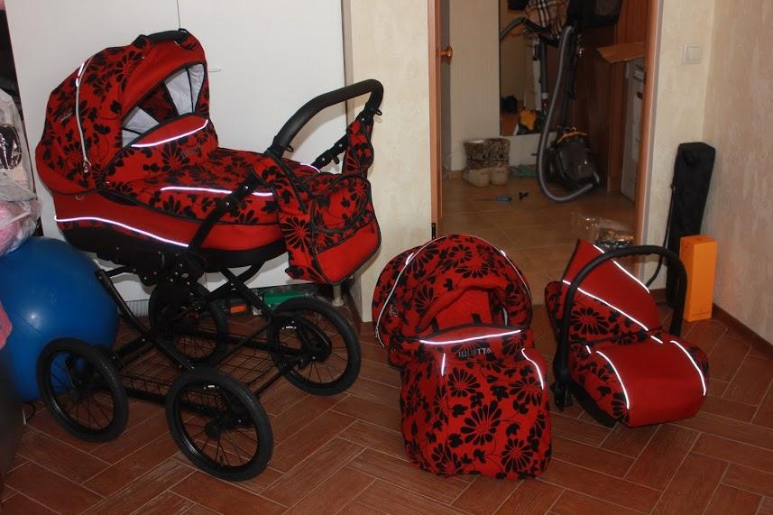 фото коляски Camarelo Julietta