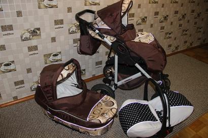 фото коляски Camarelo Q12 Cosmo 3 в 1