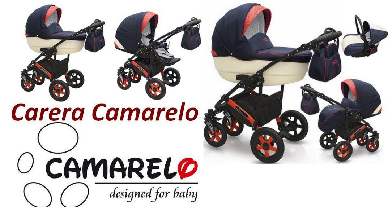 фото детской коляски Camarelo Carera 2 в 1
