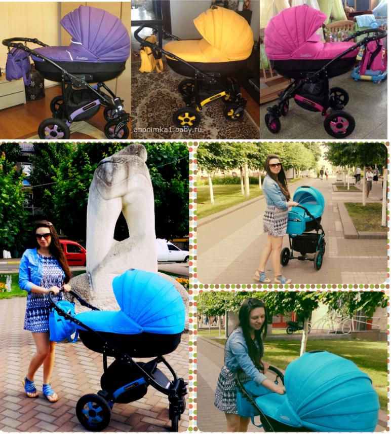 фото детской коляски Камарело Севилла