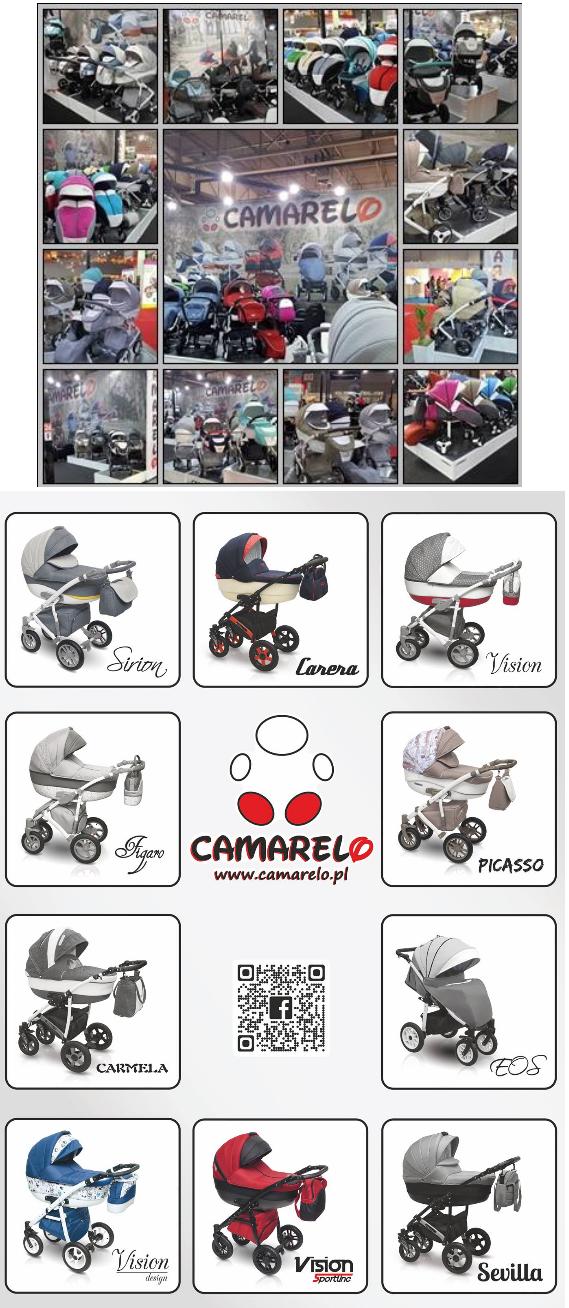 фото колясок camareo 3в1